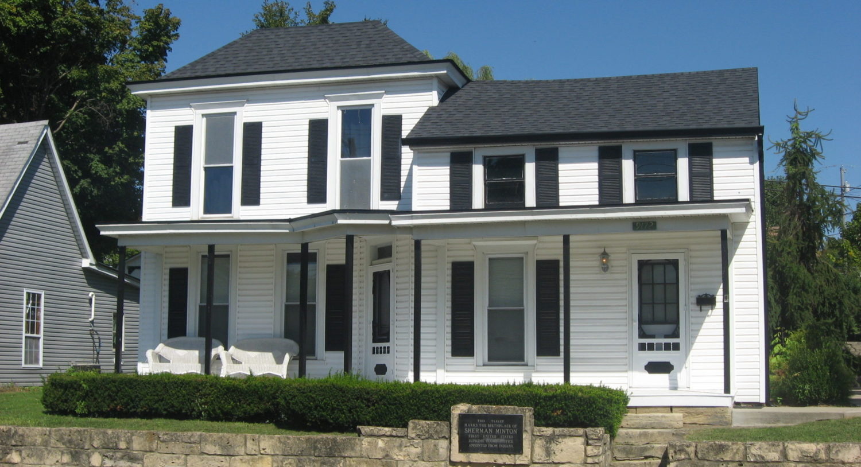Sherman Minton Birthplace House Destination Georgetown Indiana